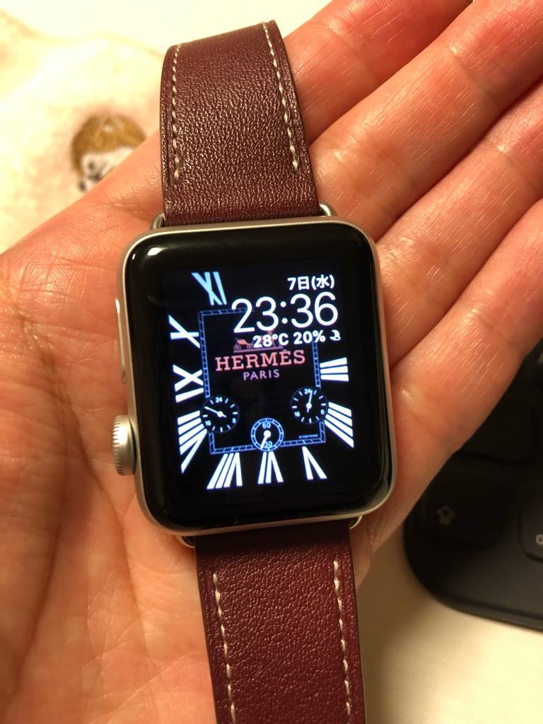 Apple Watchの文字盤をなんちゃってエルメスにする方法 Sakuranboneko
