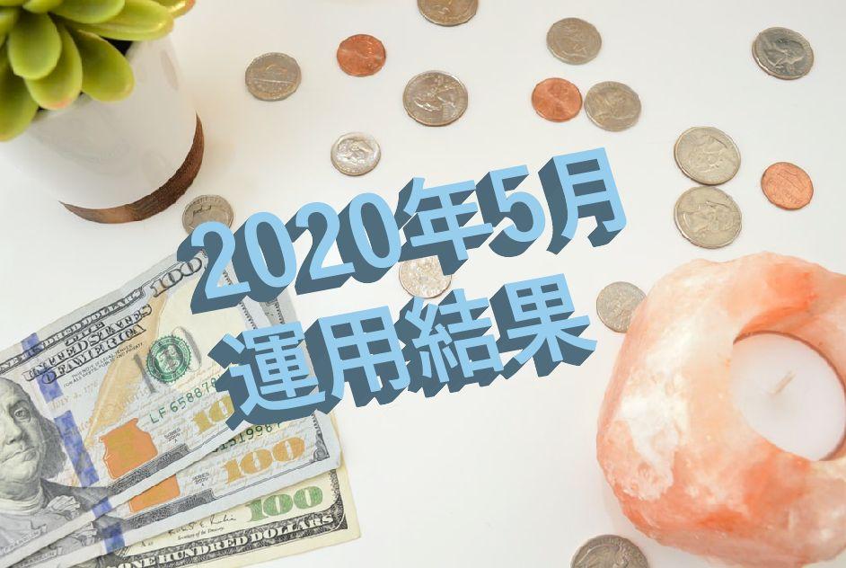 お金と観葉植物の背景に水色の文字