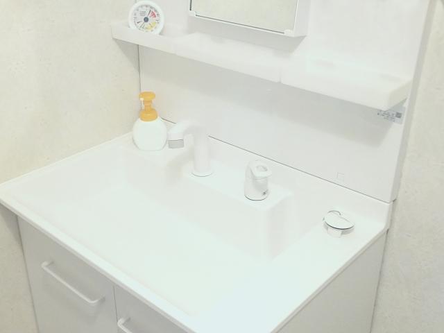 病棟に自分で髪を洗えるシャンプー台がありました