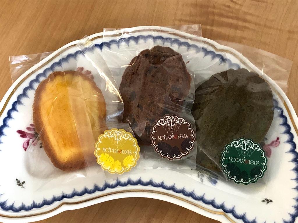 左からプレーン・チョコ・抹茶 素材の味がしっかり