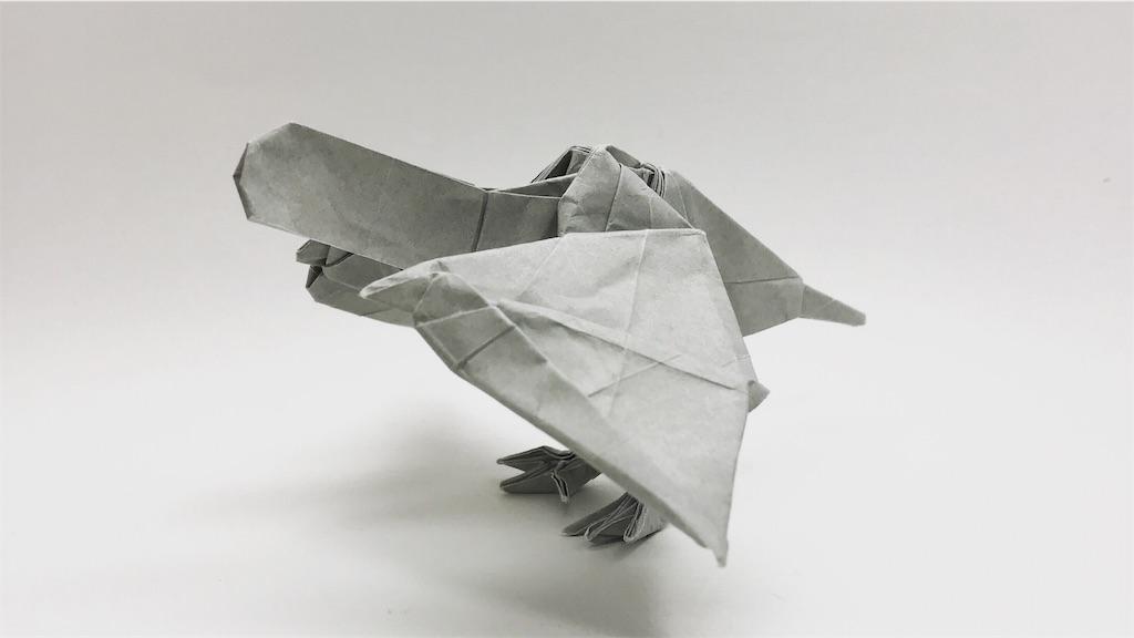 折り紙 ティラノサウルス