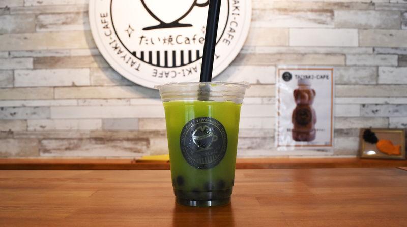 静岡緑茶タピオカ