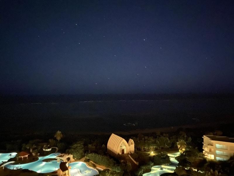 部屋からの景色・夜