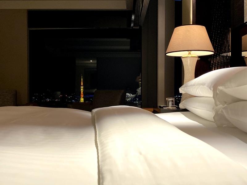 ベッドから東京タワー