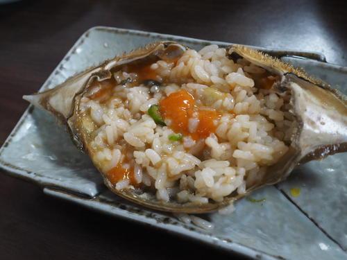 甲羅の食べ方3