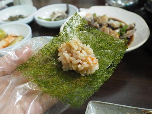 甲羅の食べ方4