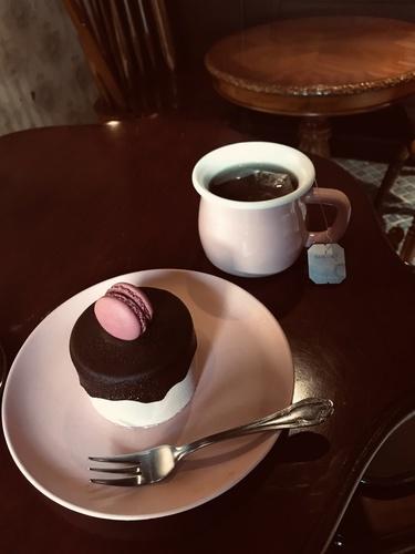 紅茶とケーキ