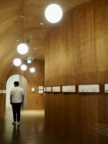 展示(木の部屋)
