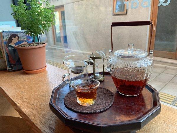 カフェ お茶