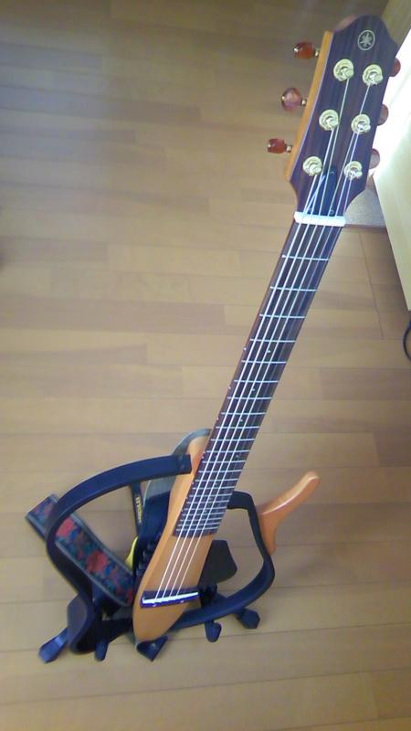 サイレントギター見参