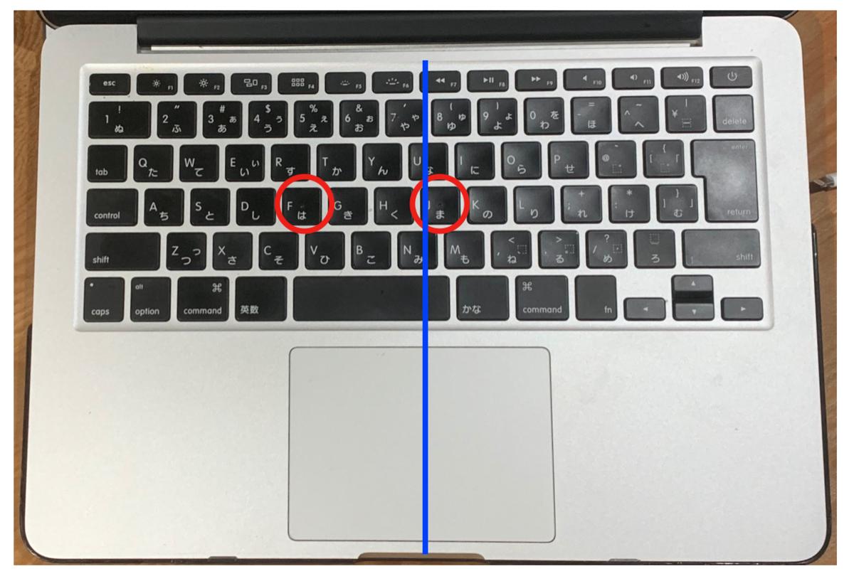 MacBook Pro2015_JISキーボード検証