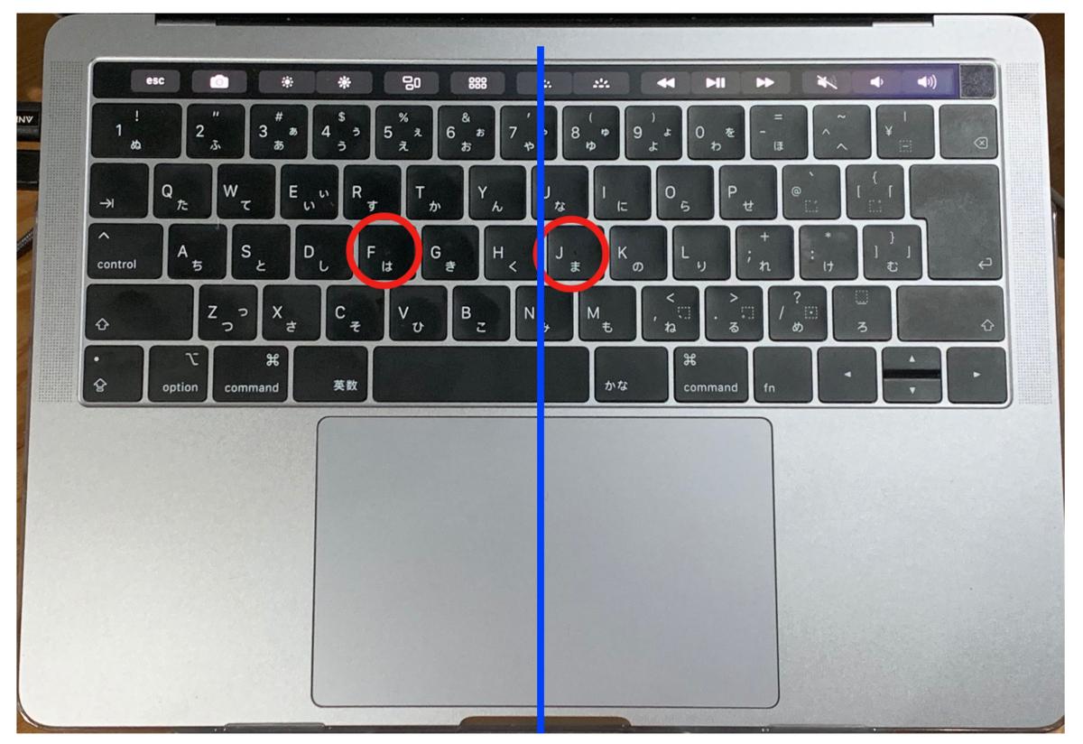 MacBook Pro2018_JISキーボード検証
