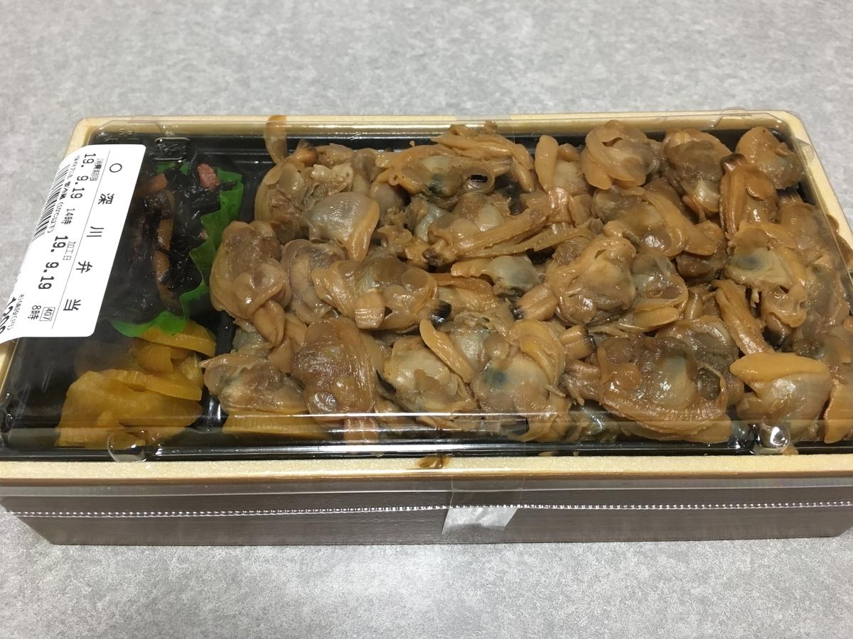 東京駅の深川弁当