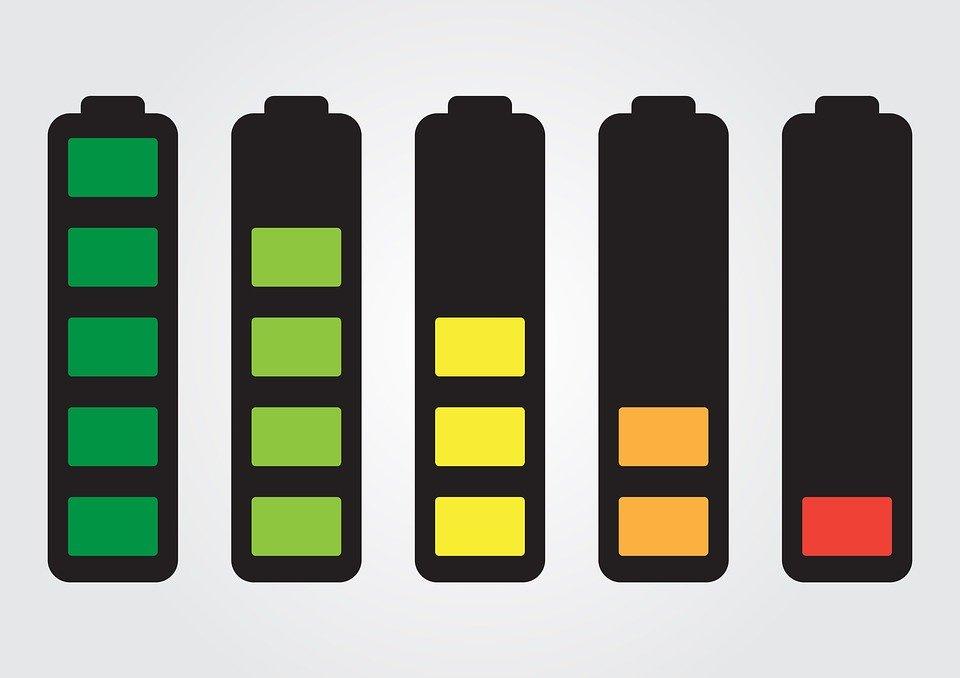 冬場のiPhoneのバッテリーの減少