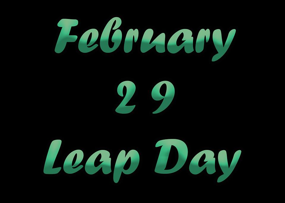 閏年(leap year)