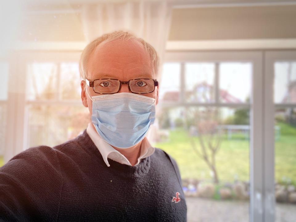 メガネが曇らないマスクのつけ方