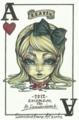 「女王の裁判」2012 アリスと豆の木「New year Alice展」ゲスト参加作品