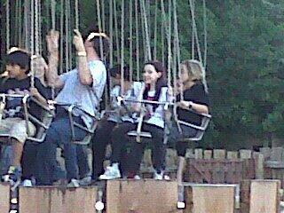 Me on Monkey Swingers