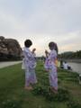 京都新聞写真コンテスト 少女と大人のあいだ-夏の鴨川