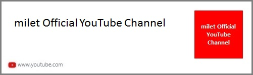 milet Official Youtube Channel