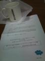 [twitter] イーデザイン損保からAmazonオリジナルマグカップが届いていた!思っ