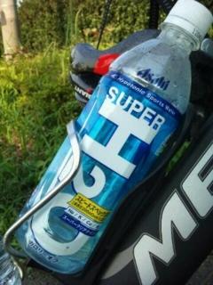 こだわりグッズその二、SUPER H2O。最近あまり手に入りにくいですが、
