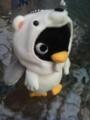 [twitter] 次男の心をつかんだシロクマをかぶったペンギン。