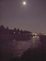 月の水面 2009.9.5 賀茂川