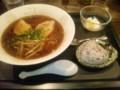 高松市旅籠町「らーめん旅籠」魚群 醤油