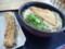 「池上製麺」冷やかけ3玉、お揚げ、ちくわ天