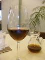 水出しコーヒーをワイングラスで@HONEYCOMB CAFE