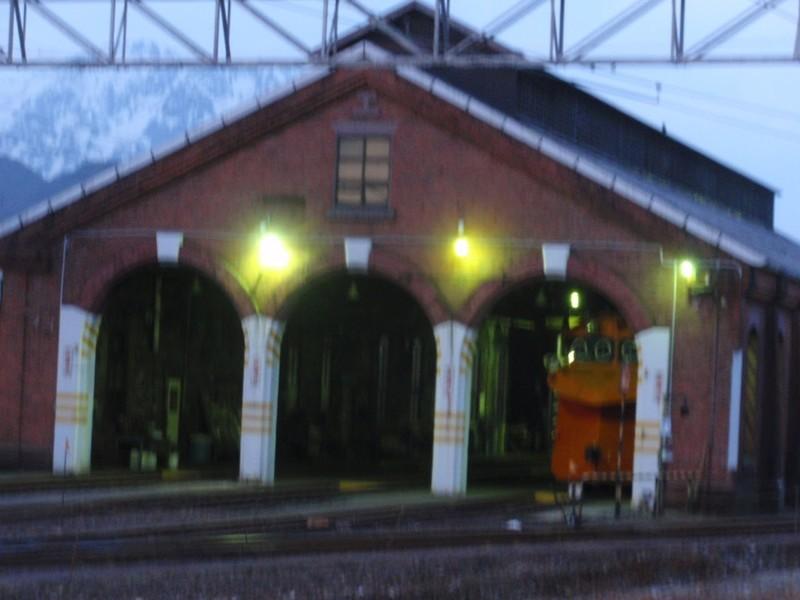 レンガ車庫 大糸線 糸魚川駅
