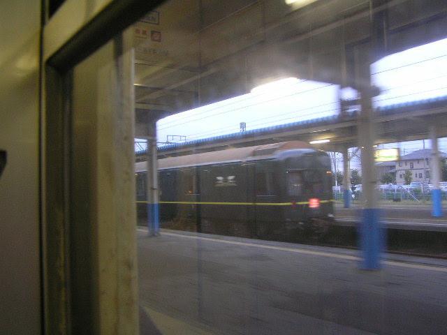国鉄419系 食パン列車からトワイライトエクスプレスを眺める