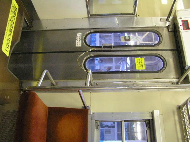 国鉄419系 食パン列車 ドア 観音開き