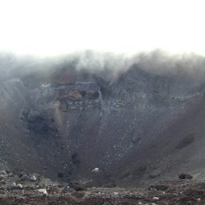 富士山 噴火口