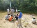 10月キャンプ 初級訓練
