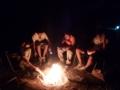 7月隊キャンプ 夜