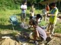 7月隊キャンプ バーベキュー