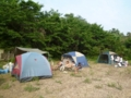 8月隊キャンプ ネイチャーランドにて