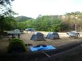 5月隊キャンプ Newネイチャーランドにて