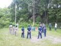 5月団キャンプ 開会式