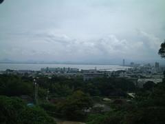 法明院より琵琶湖
