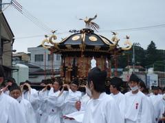 塩竈みなと祭の鹽竈神社神輿
