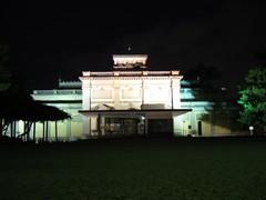 奈良国立博物館本館(ライトアップ)