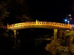 二荒山神社神橋(ライトアップ)