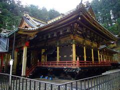 大猷院霊廟拝殿