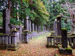 釈迦堂殉死の墓及び譜代家臣の墓
