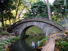 小石川後楽園の円月橋