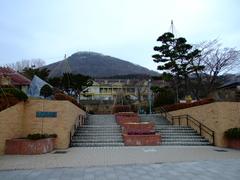 元町公園正面入口
