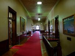 北海道庁旧本庁舎2階廊下